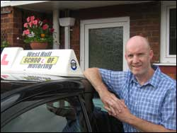 driving instructor hull