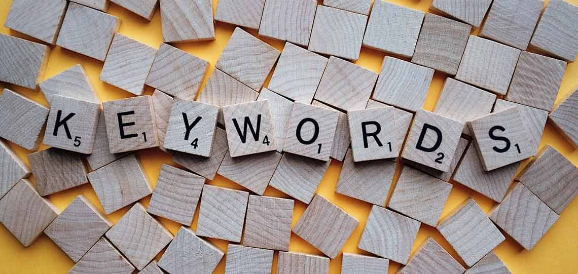 simple keyword research letters